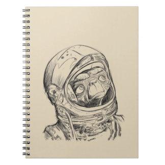 Alien go home Notebook