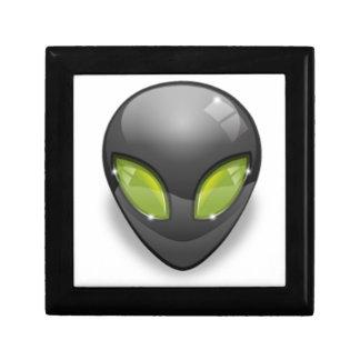 Alien Gray Design#2 Gift Box
