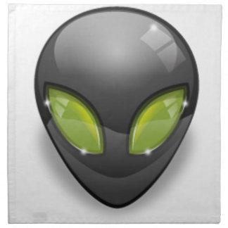 Alien Gray Design#2 Napkin