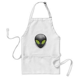 Alien Gray Design#2 Standard Apron
