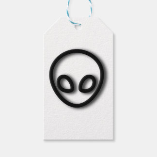 Alien Gray Design Gift Tags