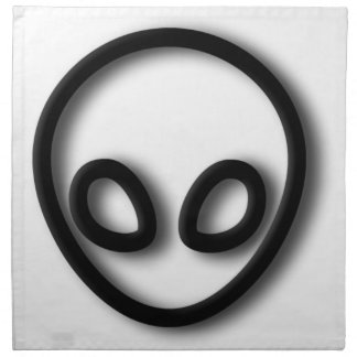 Alien Gray Design Napkin