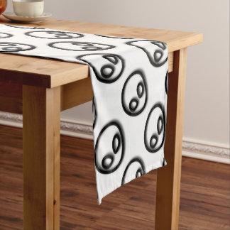 Alien Gray Design Short Table Runner