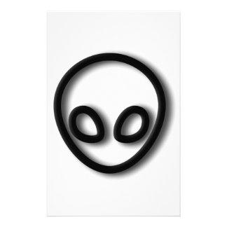 Alien Gray Design Stationery