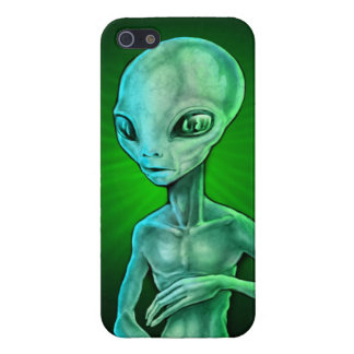 Alien Gray Covers For iPhone 5