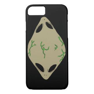 Alien Green Cell Phone Case