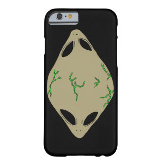 Alien Green Cell Phone Case Barely There iPhone 6 Case