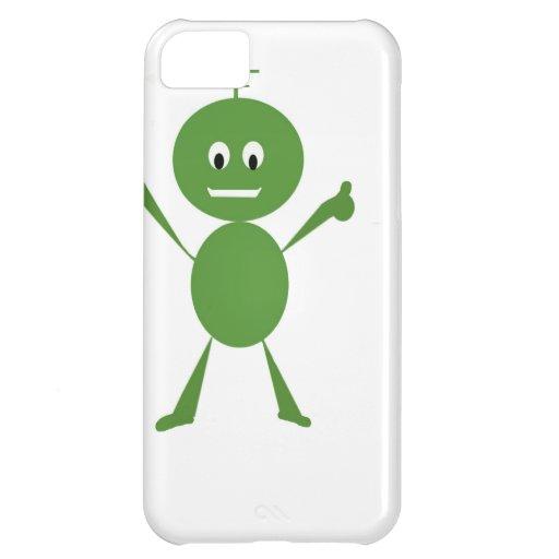 Alien Greeting iPhone 5C Cases