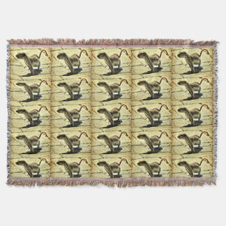 Alien Ground squirrel Custom Throw Blanket