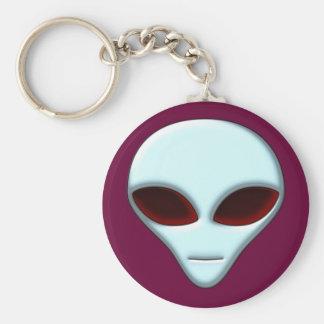 Alien Head 01 Keychain