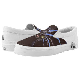 Alien Headdress Slip-On Shoes