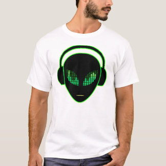 Alien Headphones T-Shirt