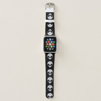 Alien Heads Apple Watch Band