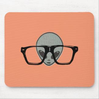 Alien Hipster Mousepad