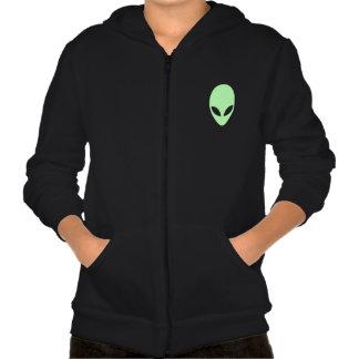 Alien Hooded Pullovers