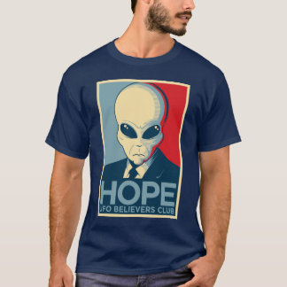 Alien Hope - UFO BELIEVERS CLUB T-Shirt