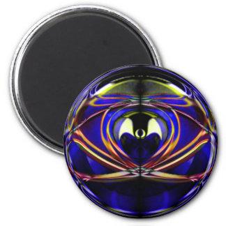 Alien-I 6 Cm Round Magnet