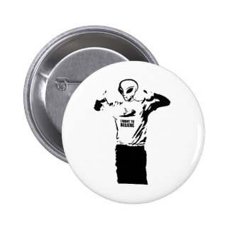 Alien - I want to believe Pins