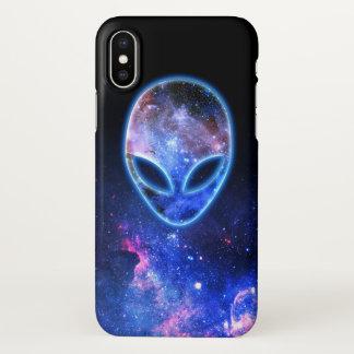 Alien in Space iPhone X Case