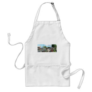alien in the crowd standard apron