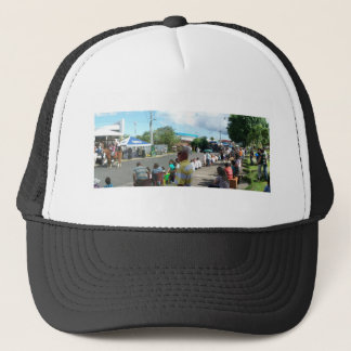 alien in the crowd trucker hat