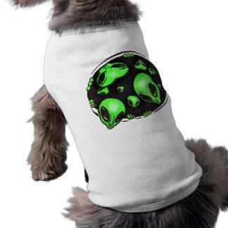 Alien Invasion Sleeveless Dog Shirt
