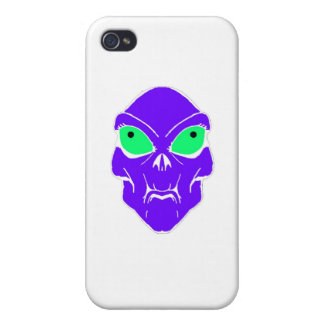 Alien Cover For iPhone 4