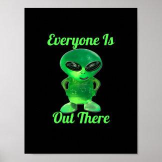 Alien Jewel Poster