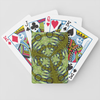 Alien Jungle Bicycle Playing Cards