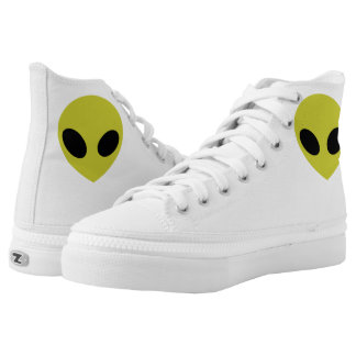 Alien Kicks Printed Shoes