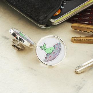 Alien Kitty Lapel Pin