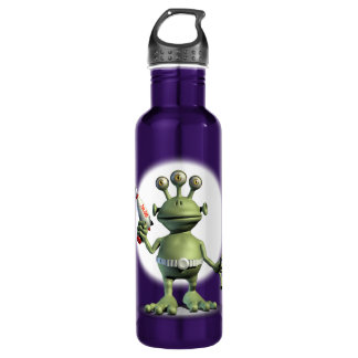 Alien Laser Gun 710 Ml Water Bottle