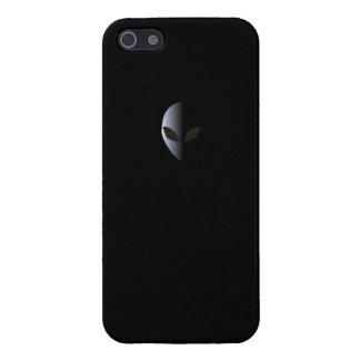Alien Logo Black Iphone 5 case UFO