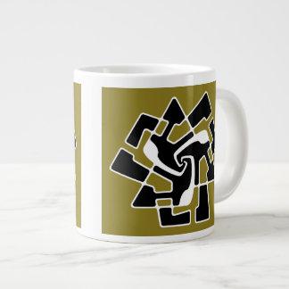 Alien Logo Tri-Arrow Large Coffee Mug