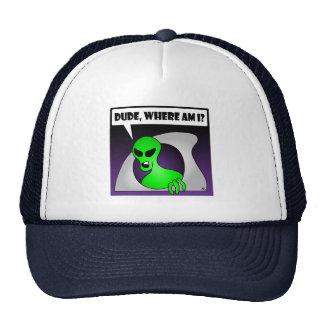 ALIEN LOST-1 TRUCKER HAT