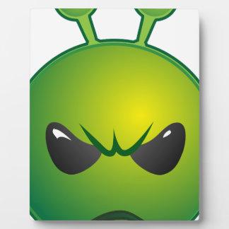 alien mad plaque