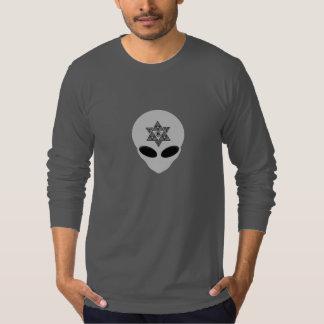 Alien Merkabah Hooded T-Shirt