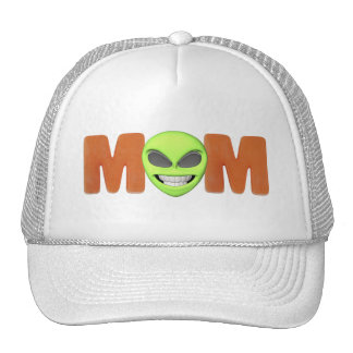 Alien Mom Mothers Day Gifts Trucker Hat