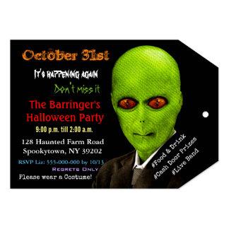 Alien Monster Halloween 2 VIP Pass Invitation