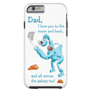 Alien, Moon and back! Tough iPhone 6 Case