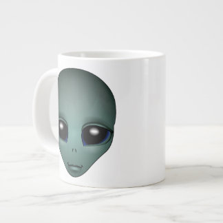 Alien Mug Grey Extraterrestrial Cup Alien Mugs Jumbo Mug