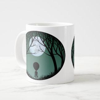 Alien Mug Grey Extraterrestrial Cup Alien Mugs Jumbo Mugs