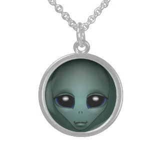 Alien Necklace E.T. Gifts Extraterrestrial Jewelry