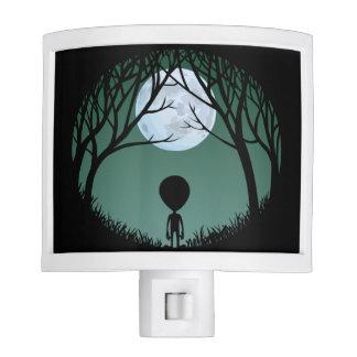 Alien Nightlight Fun Extraterrestrial Night Light