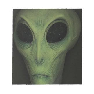 Alien Notepads