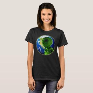 Alien on planet earth T-Shirt