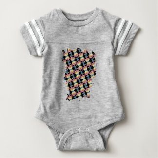 Alien Pattern Baby Bodysuit