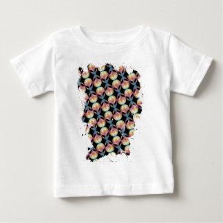 Alien Pattern Baby T-Shirt