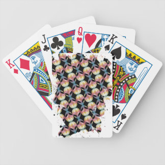 Alien Pattern Bicycle Playing Cards