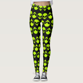 Alien Pattern Leggings